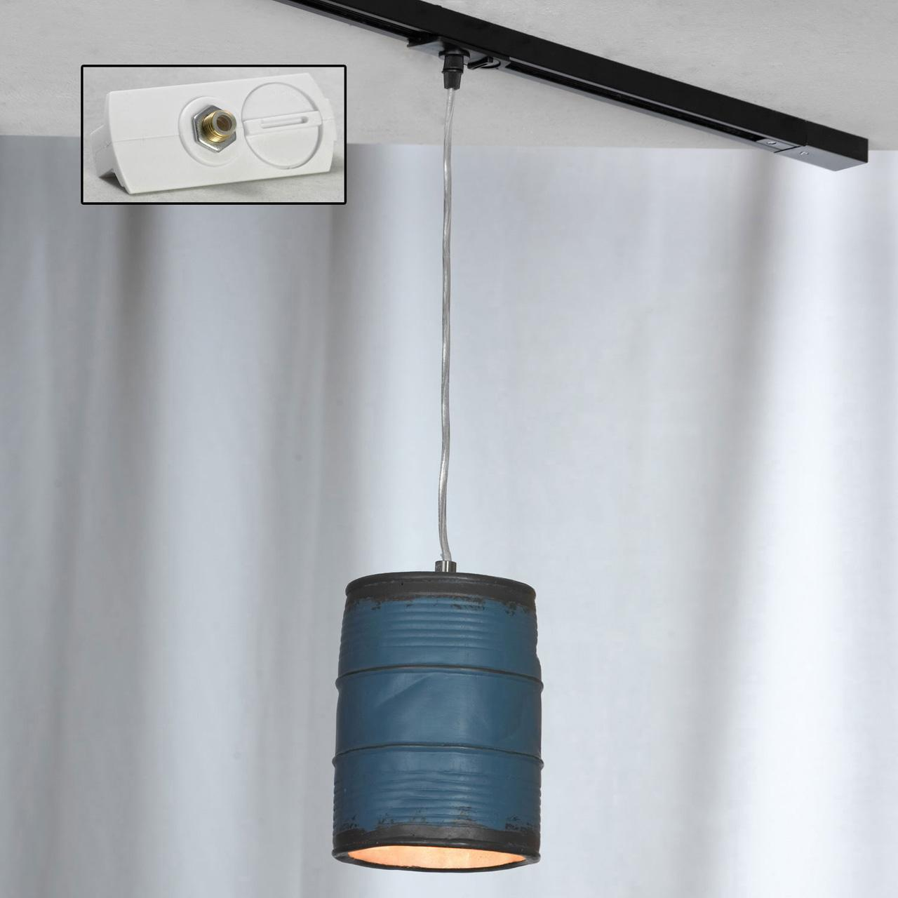 Трековый светильник однофазный Lussole LOFT Track Lights LSP-9525-TAW edison bulb loft style vintage pendant industrial light lamp with 3 lights for dining room