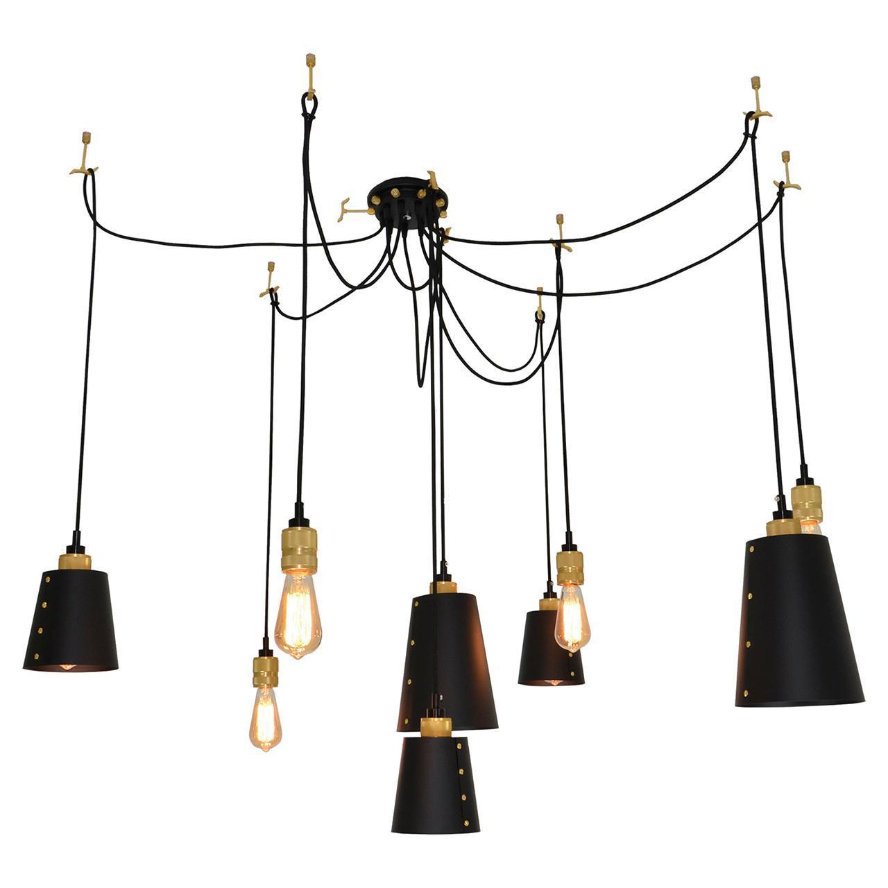 Люстра Lussole Loft LSP-9869 подвесная подвесная люстра lussole loft lsp 9869