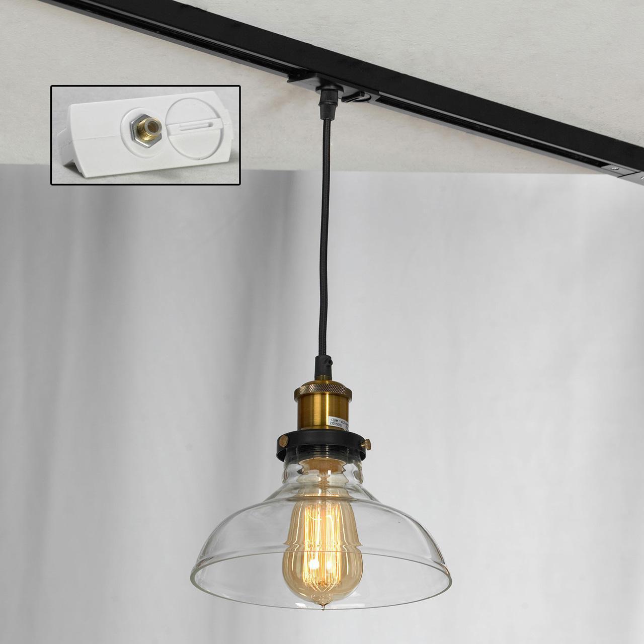 Фото - Трековый светильник однофазный Lussole LOFT Track Lights LSP-9606-TAW потолочный светильник lussole lsp 9606