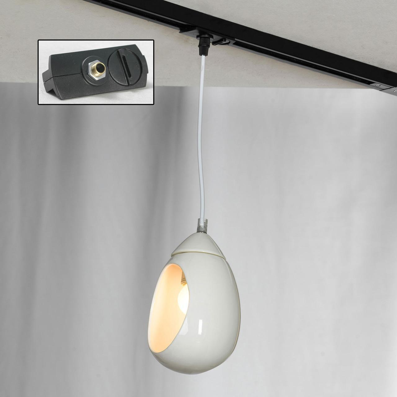 Трековый светильник однофазный Lussole LOFT Track Lights LSP-8034-TAB edison bulb loft style vintage pendant industrial light lamp with 3 lights for dining room