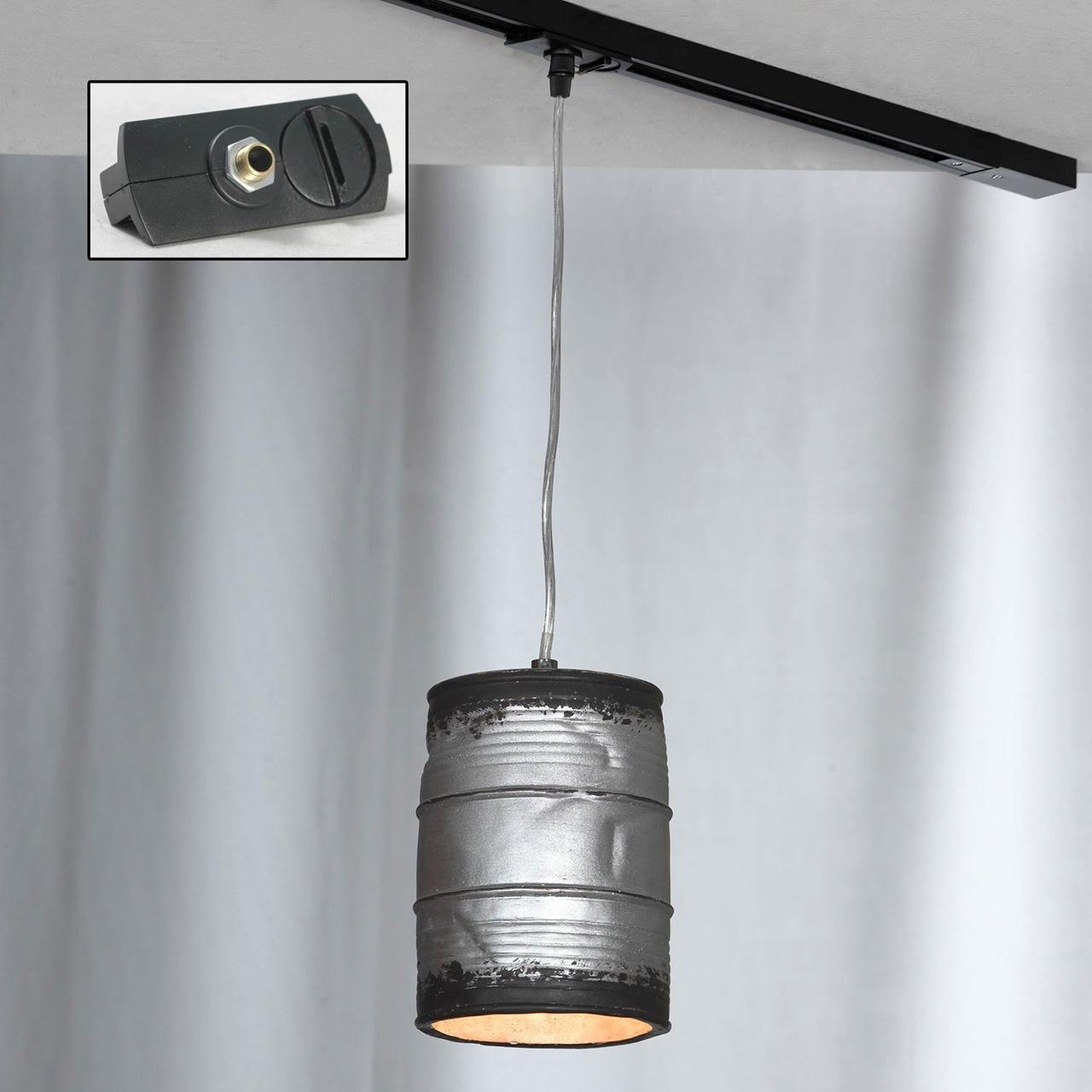 Трековый светильник однофазный Lussole LOFT Track Lights LSP-9526-TAB edison bulb loft style vintage pendant industrial light lamp with 3 lights for dining room