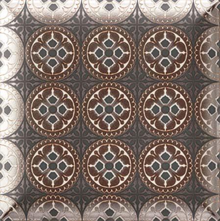 HD Effects Metal Black Decor плитка настенная 150х150 мм/63 metal decor loafer mules