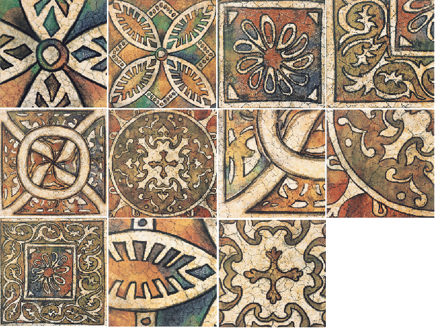 Декор Mainzu Bolonia +12232 Decor Medievo