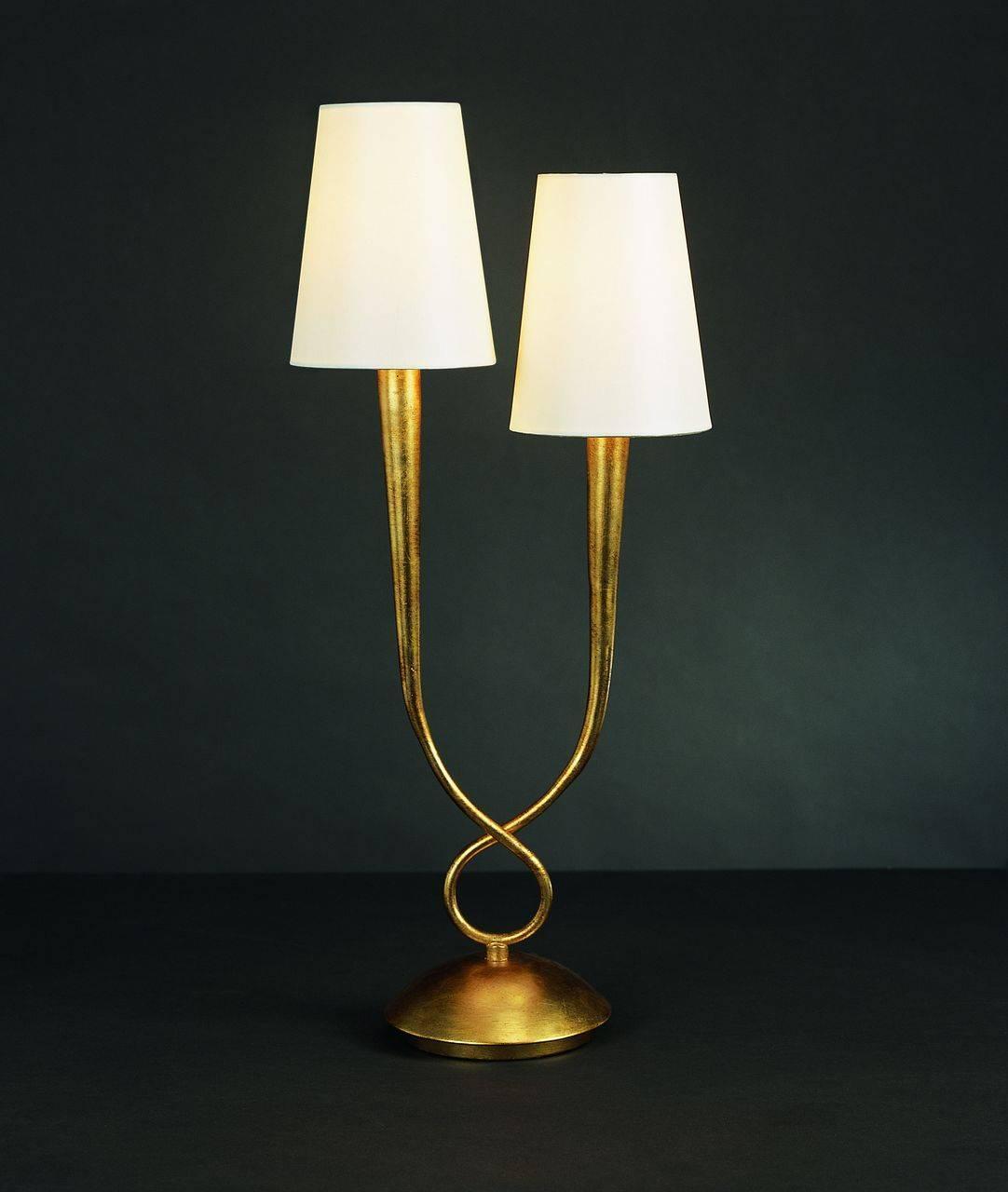 Настольная лампа Mantra Paola Painted Gold 3546 подвесной светильник mantra paola painted gold 3541