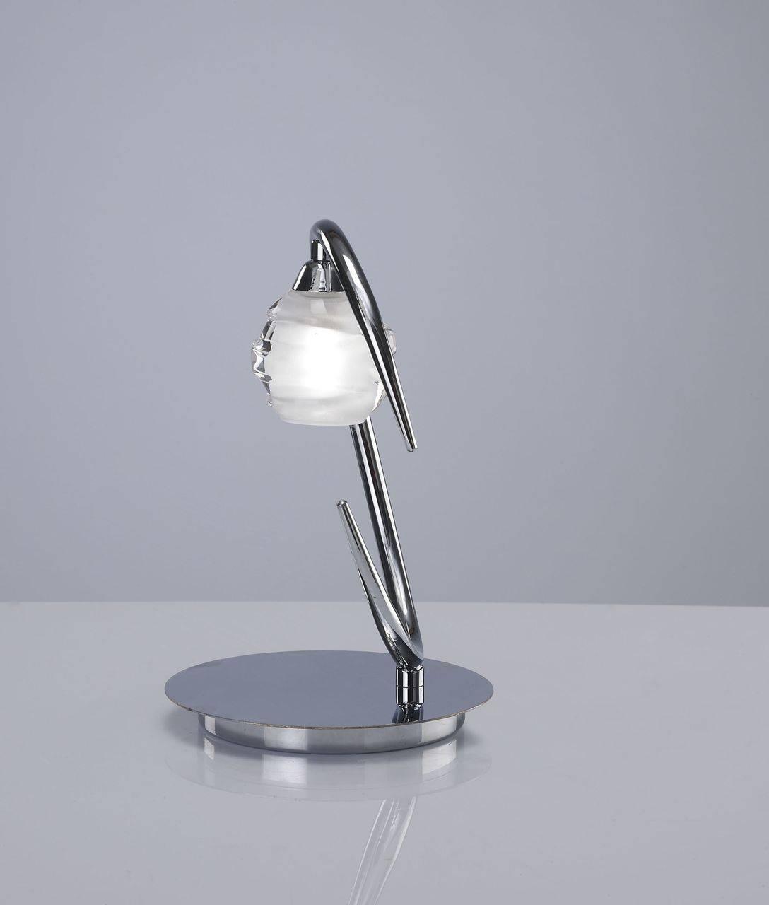 Настольная лампа Mantra Loop Chrome 1807 настольная лампа mantra loop 1827