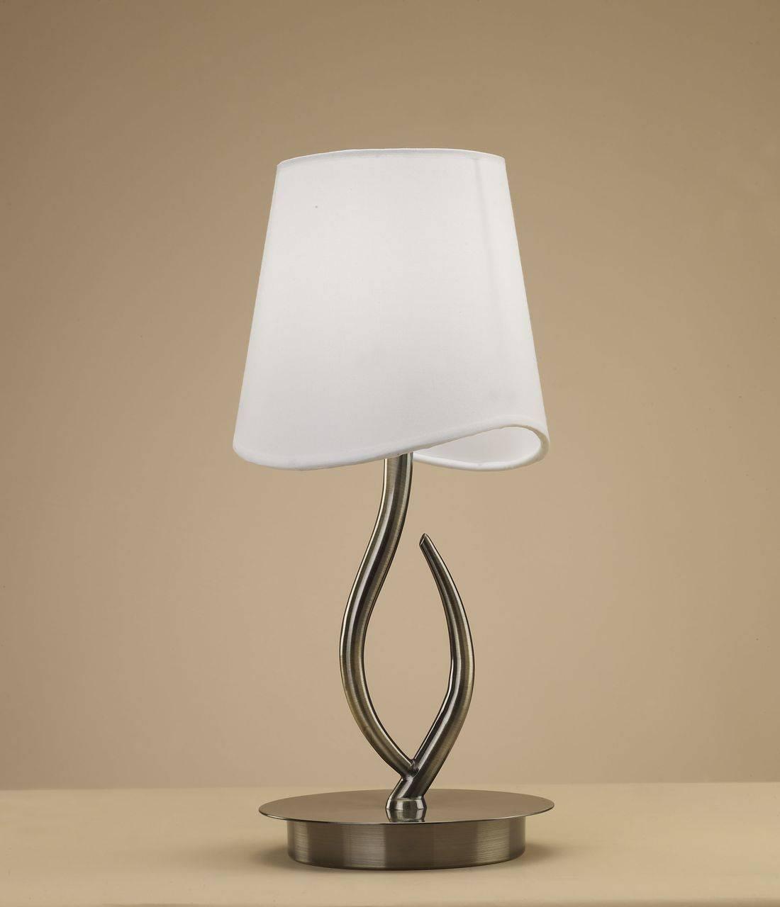 Настольная лампа Mantra Ninette Antique Bras 1925 все цены