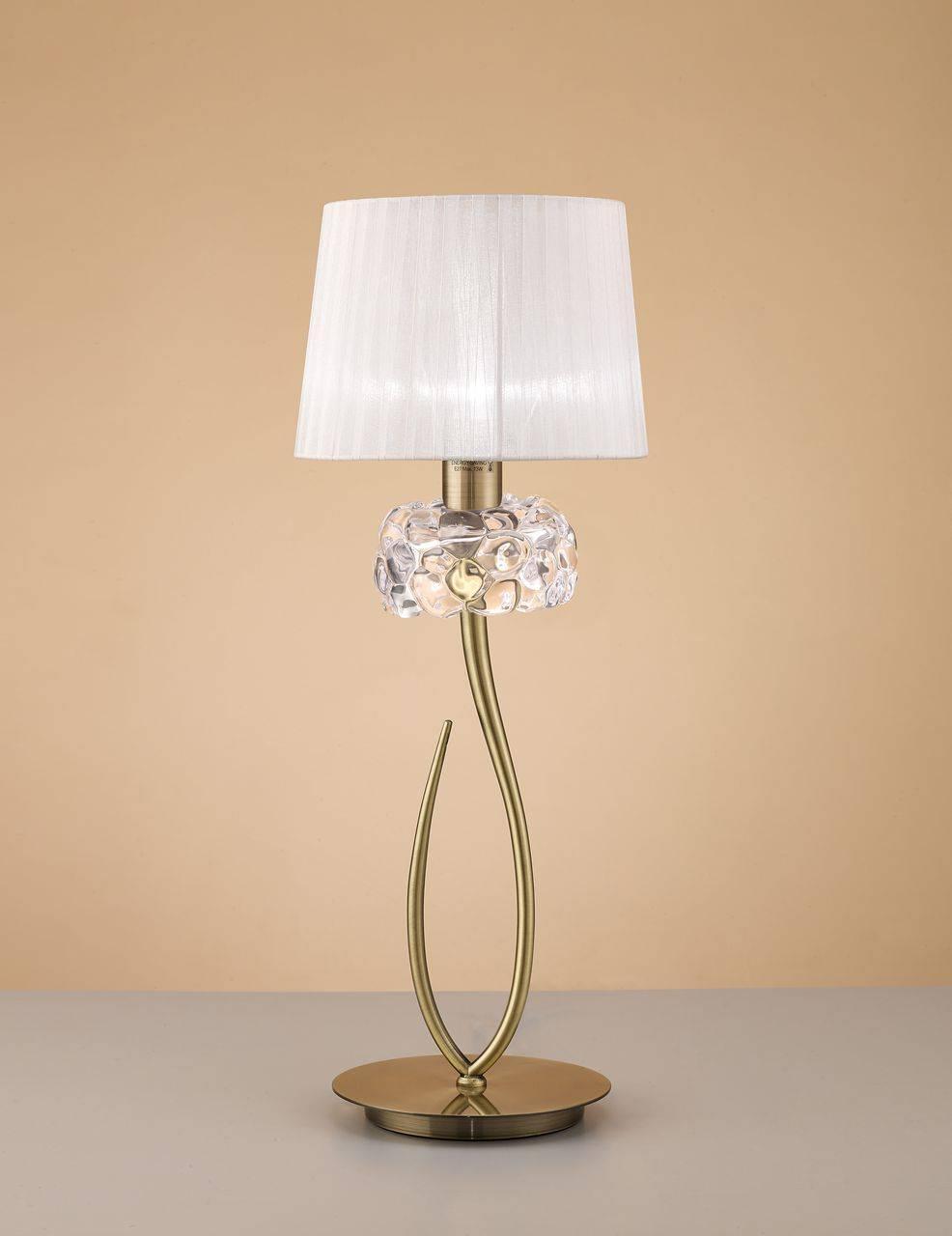 Фото - Настольная лампа Mantra Loewe 4736 настольная лампа декоративная mantra loewe 4737