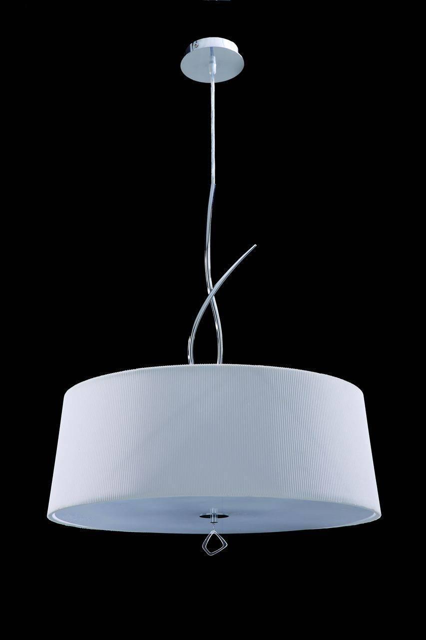 Люстра Mantra Mara Chrome - White 1644 подвесная подвесная люстра mantra mara chrome white 1640