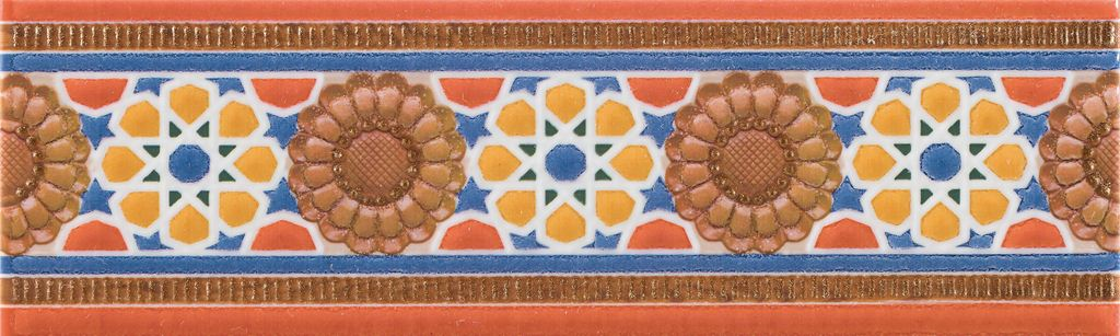 Бордюр Mapisa Cenefa Hammam 7х25 бордюр azulejos alcor cenefa rialto 8х28