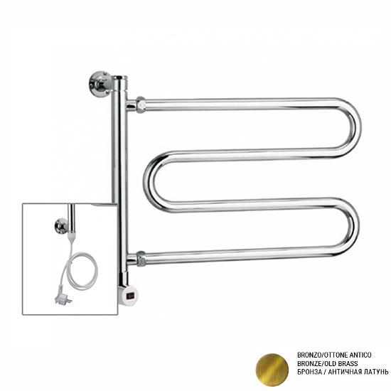 Электрический полотенцесушитель Margaroli 510 old brass