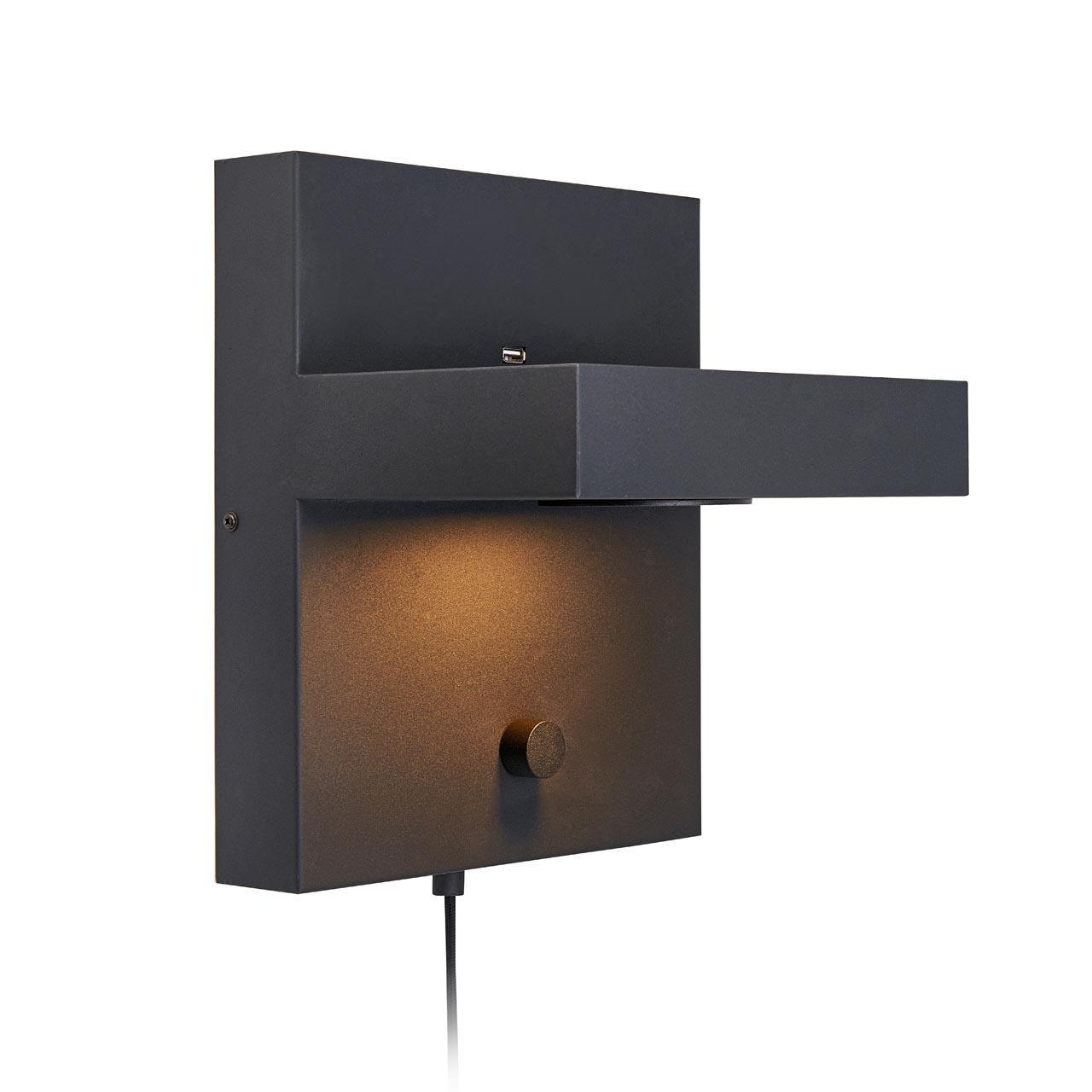 Настенный светодиодный светильник Markslojd Kubik 107065 swiss kubik шкатулка для часов swiss kubik sk04 cv004 wp