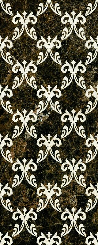 Настенная плитка Mayolica Decor Versailles Emperador 28х70 декор tagina woodays angolo versailles larice biondo 61x61