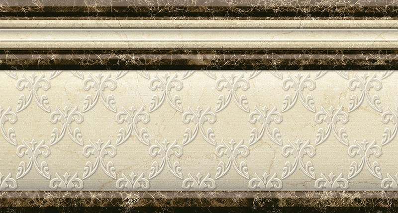 Бордюр Mayolica Zocalo Versailles 15х28 бордюр almera ceramica orleans zocalo tarragone gold aqua marine 15x15