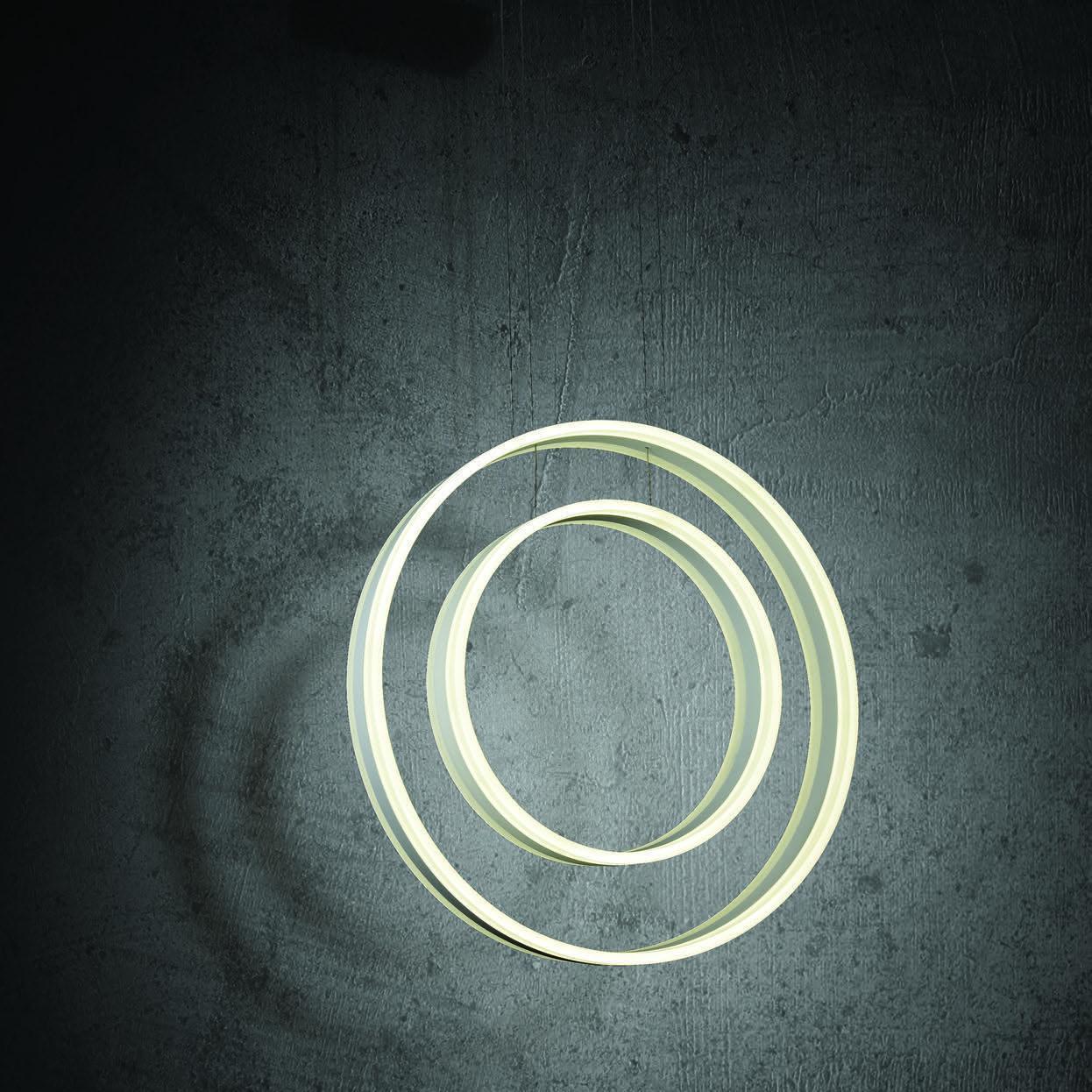 Подвесной светодиодный светильник Maytoni Ravello MOD808-PL-02-115-W