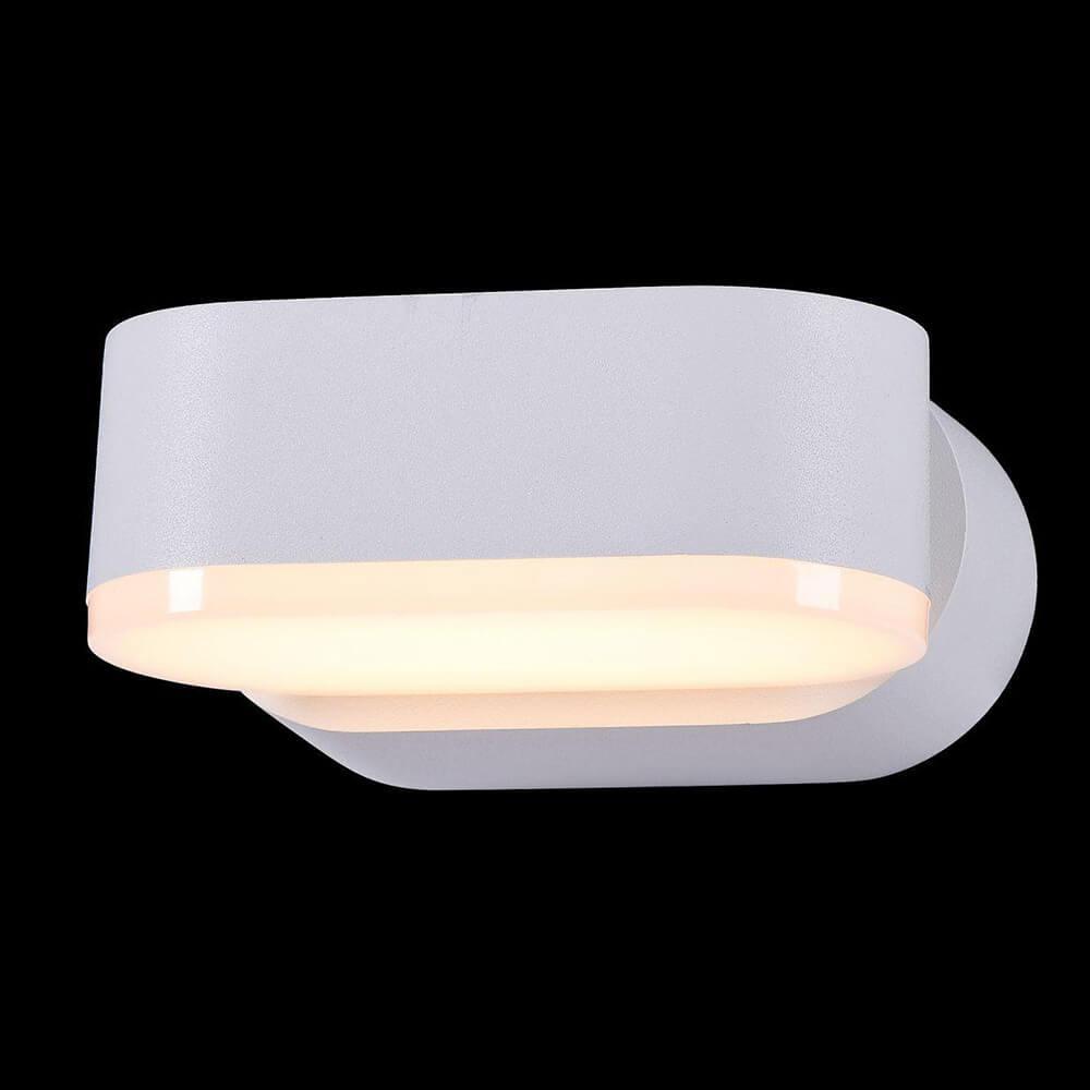 Уличный настенный светодиодный светильник Maytoni Broadway O803WL-L6W накладной светильник maytoni broadway o803wl l6b