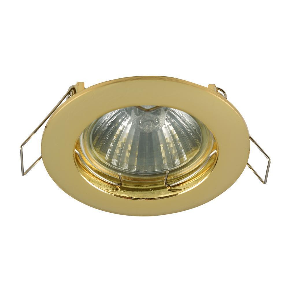 Встраиваемый светильник Maytoni Metal DL009-2-01-G встраиваемый светильник maytoni dl293 01 g