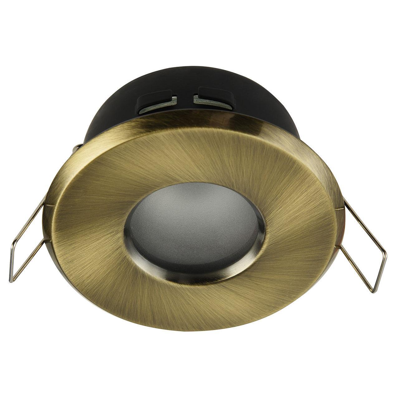 Встраиваемый светильник Maytoni Metal DL010-3-01-BZ цена