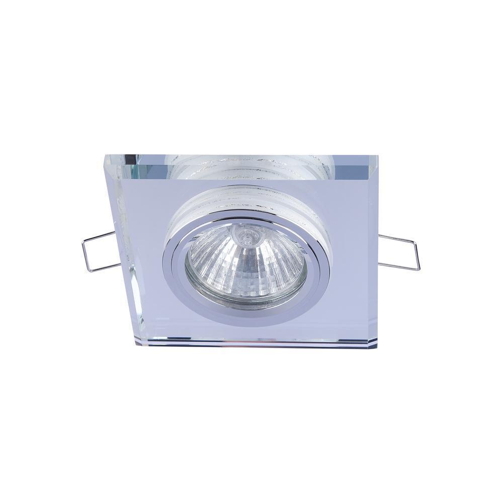 Фото - Встраиваемый светильник Maytoni Metal DL288-2-3W-W 7000k 3w 200 lumen white 3 led streetlight emitter metal strip w optical lens 9 11v