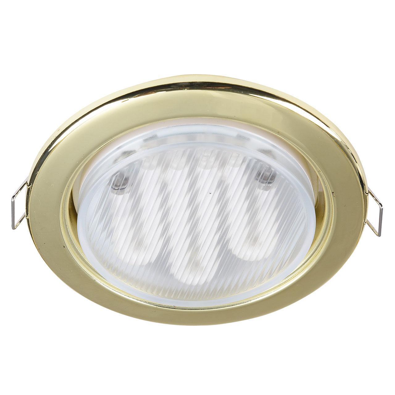 Встраиваемый светильник Maytoni Metal DL293-01-G встраиваемый светильник maytoni dl293 01 g