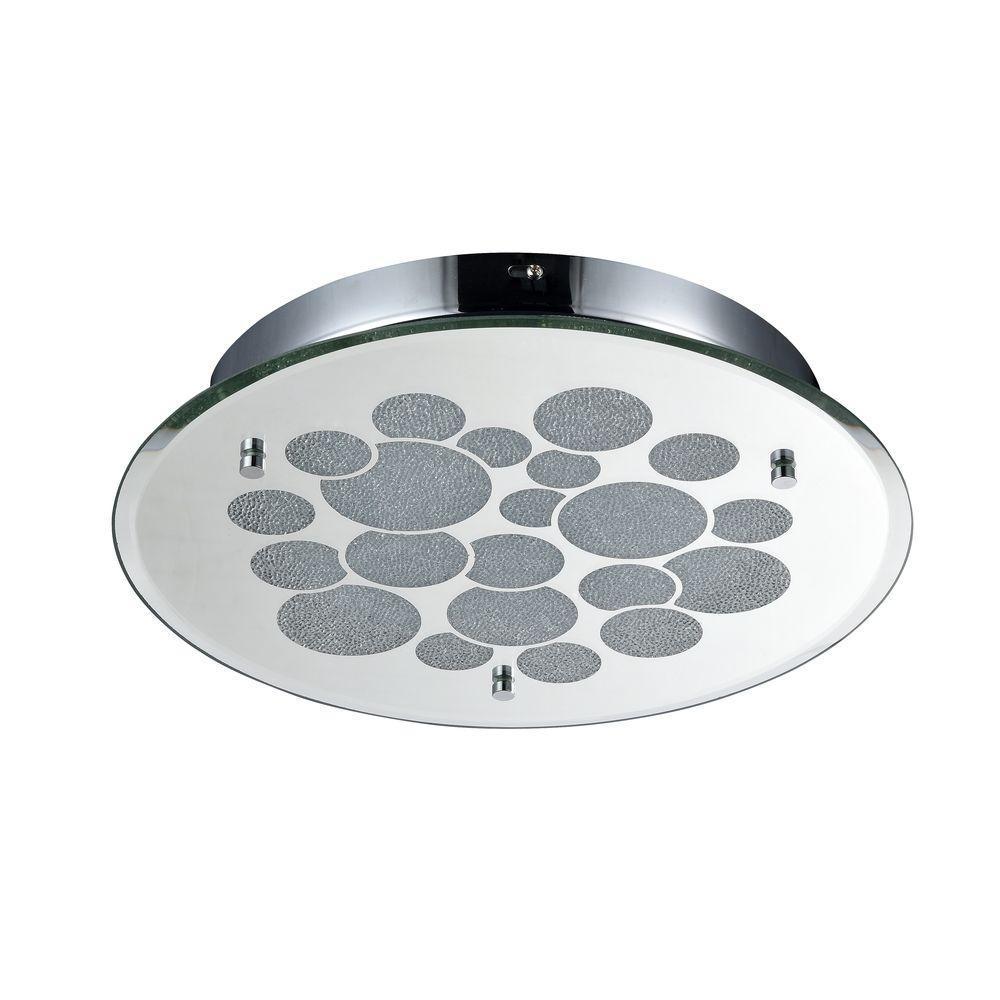Потолочный светодиодный светильник Maytoni Glitter C445-CL-01R-18W-N светильник потолочный maytoni glitter mod445 11 n