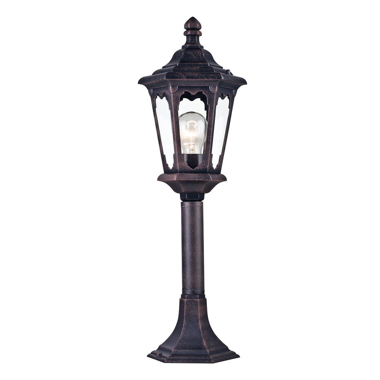 Уличный светильник Maytoni Oxford S101-60-31-B наземный низкий светильник maytoni oxford s101 60 31 в