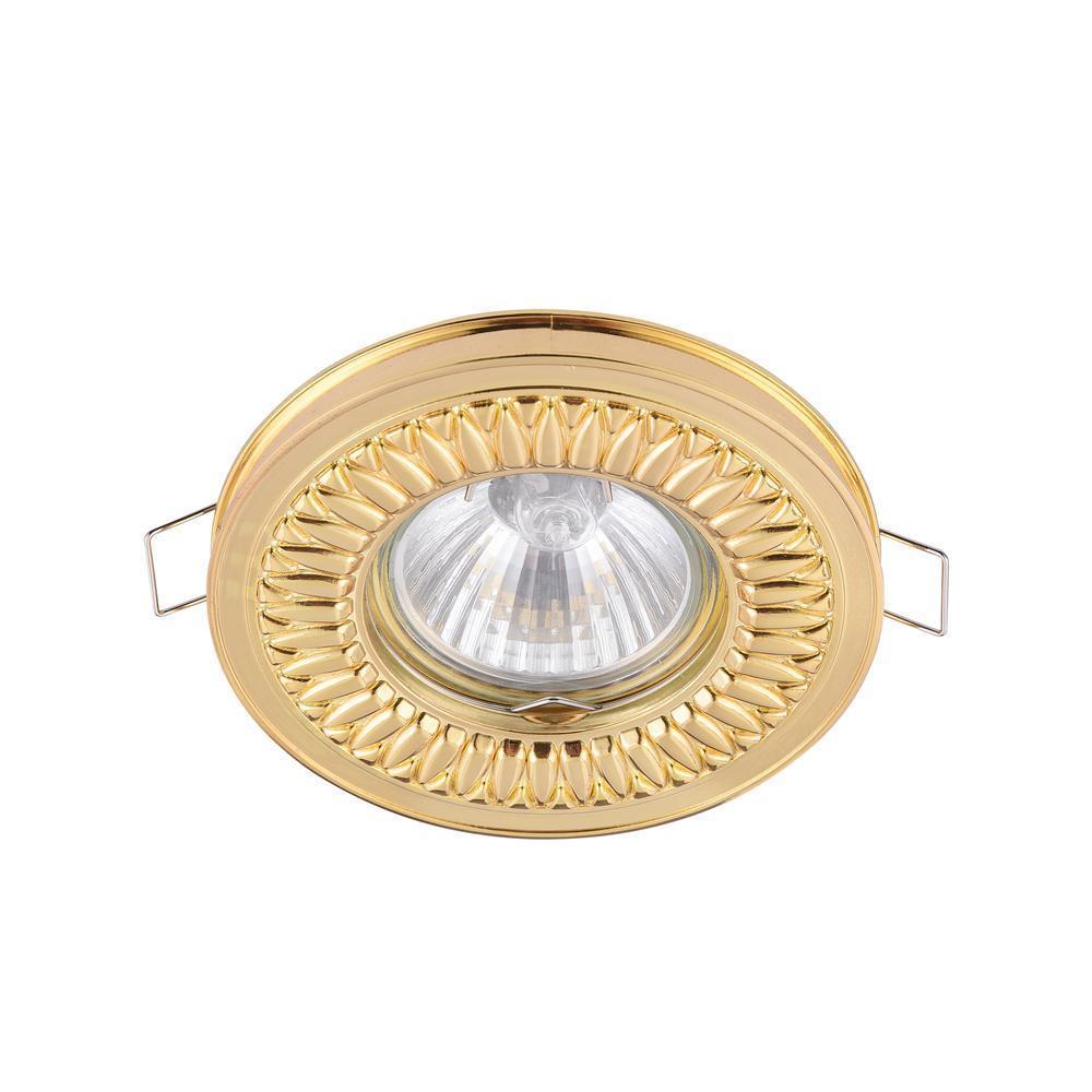 Встраиваемый светильник Maytoni Metal DL301-2-01-G встраиваемый светильник maytoni dl293 01 g