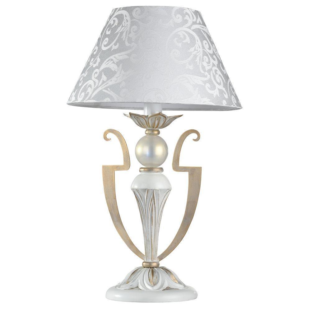 Настольная лампа Maytoni Monile ARM004-11-W торшер maytoni monile arm004 00 w