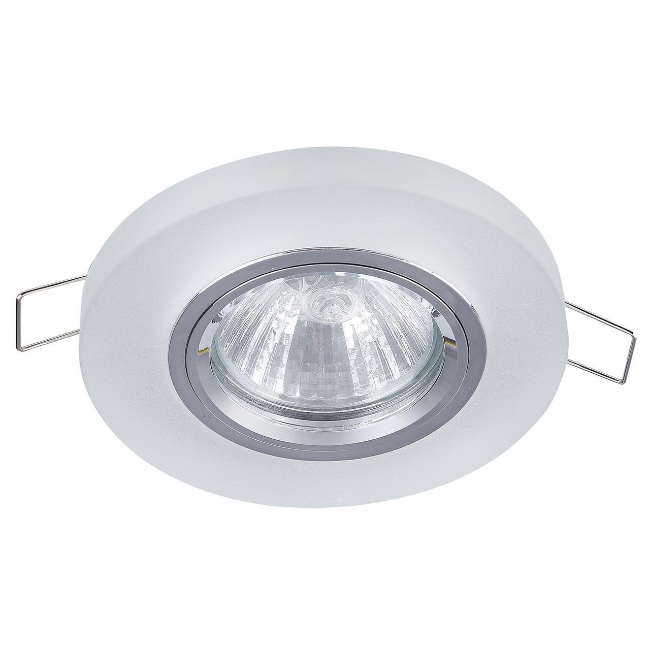 Фото - Встраиваемый светильник Maytoni Metal DL291-2-3W-W 7000k 3w 200 lumen white 3 led streetlight emitter metal strip w optical lens 9 11v