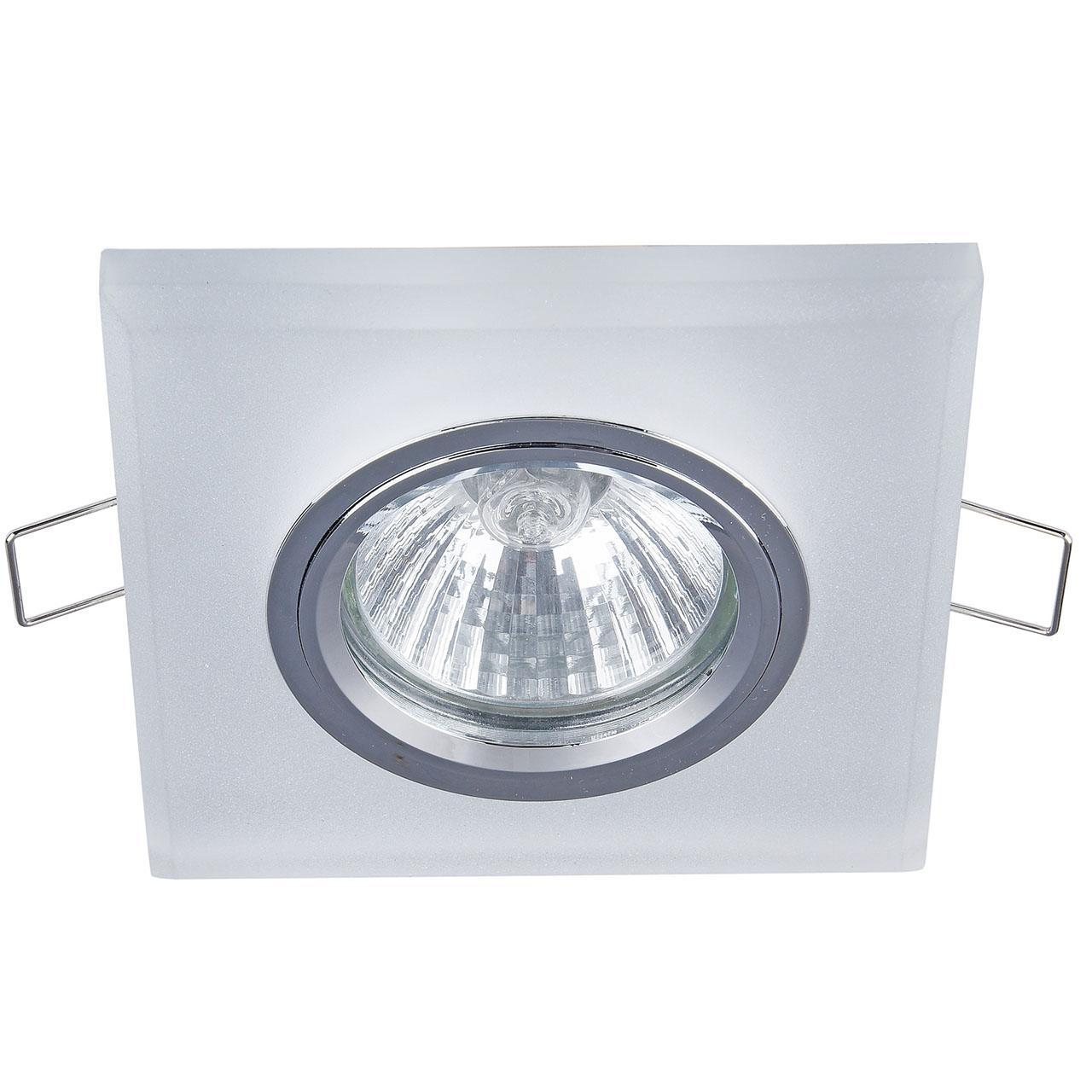 Фото - Встраиваемый светильник Maytoni Metal DL292-2-3W-W 7000k 3w 200 lumen white 3 led streetlight emitter metal strip w optical lens 9 11v