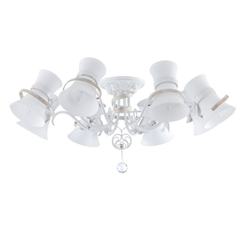Люстра Maytoni Baroque ARM128-CL-08-W потолочная цена