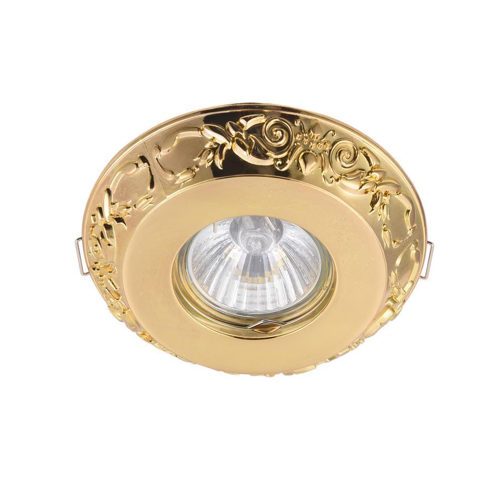 Встраиваемый светильник Maytoni Metal DL300-2-01-G встраиваемый светильник maytoni dl293 01 g