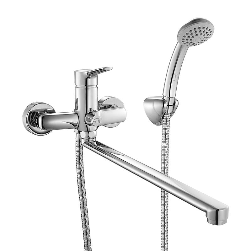 Смеситель Milardo Enisey ENISBLCM10 для ванны смеситель для ванны и душа milardo enisey с длинным изливом enisblcm10