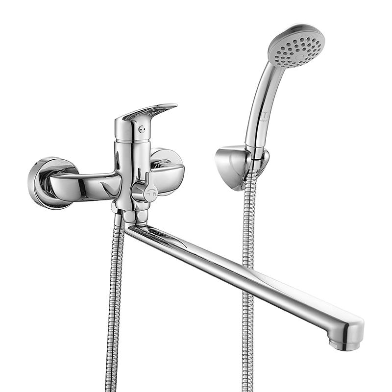 Смеситель Milardo Don DONSBLCM10 для ванны смеситель для ванны и душа milardo enisey с длинным изливом enisblcm10