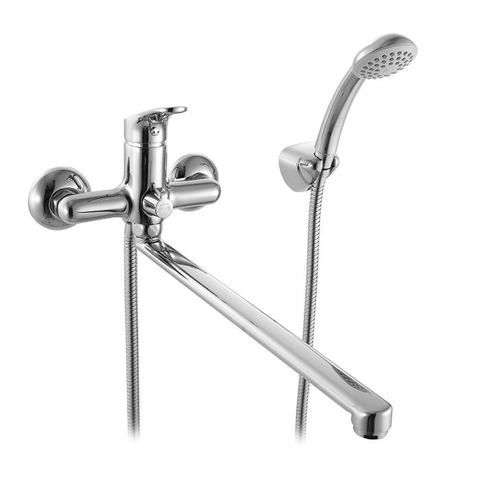 Смеситель Milardo Neva NEVSBLCM10 для ванны смеситель для ванны и душа milardo enisey с длинным изливом enisblcm10