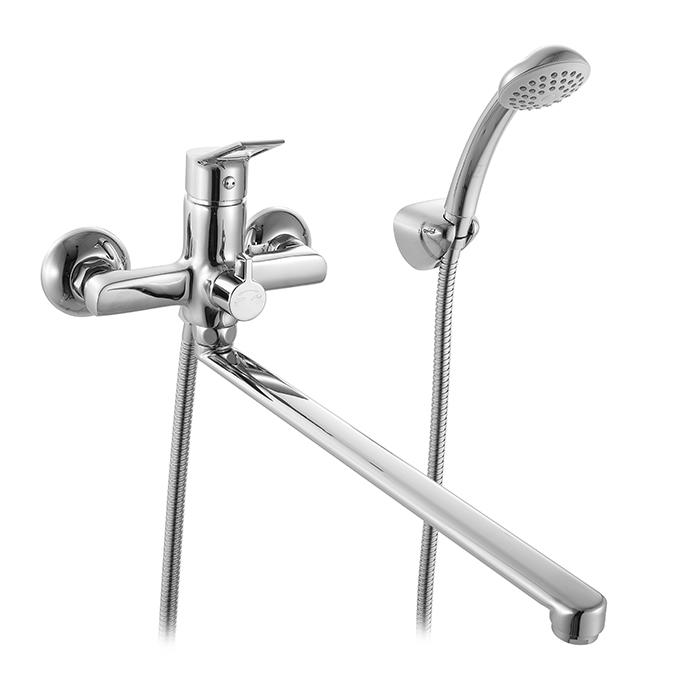 Смеситель Milardo Ukon UKOSBLCM10 для ванны смесители для ванны milardo ukon ukosblcm10