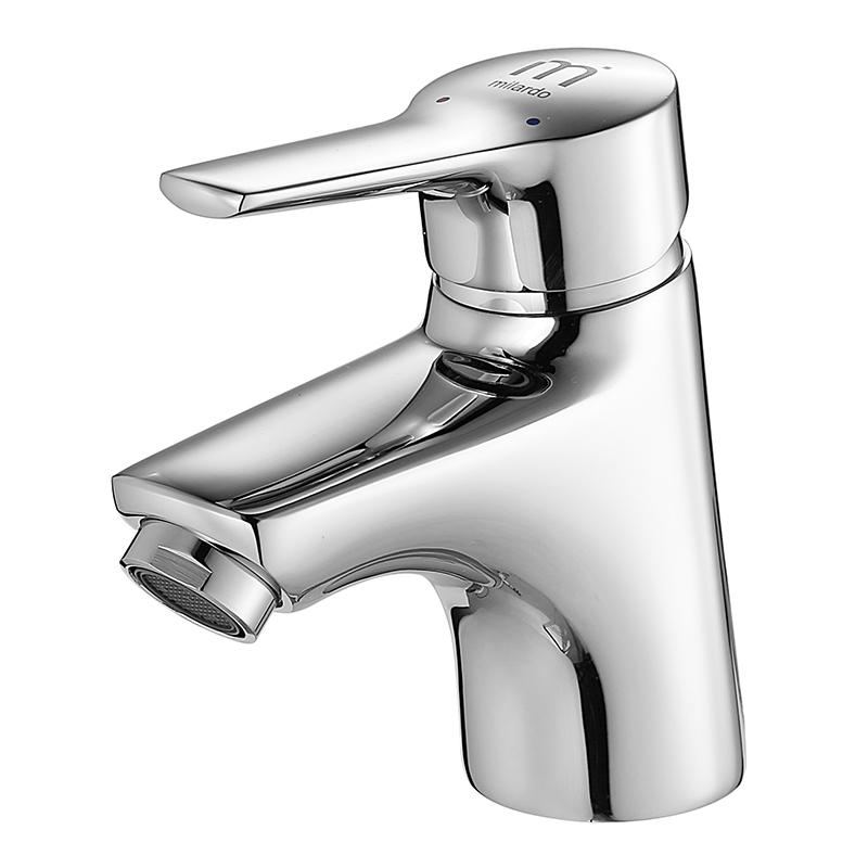 Смеситель Milardo Enisey ENISB00M01 для раковины смеситель milardo enisey enisblcm10 для ванны