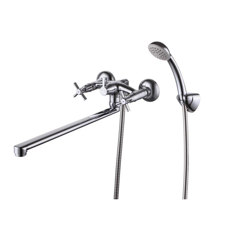 Смеситель Milardo Ontario ON1SBS0M10 для ванны смеситель для ванны cron cn 2142 с длинным изливом