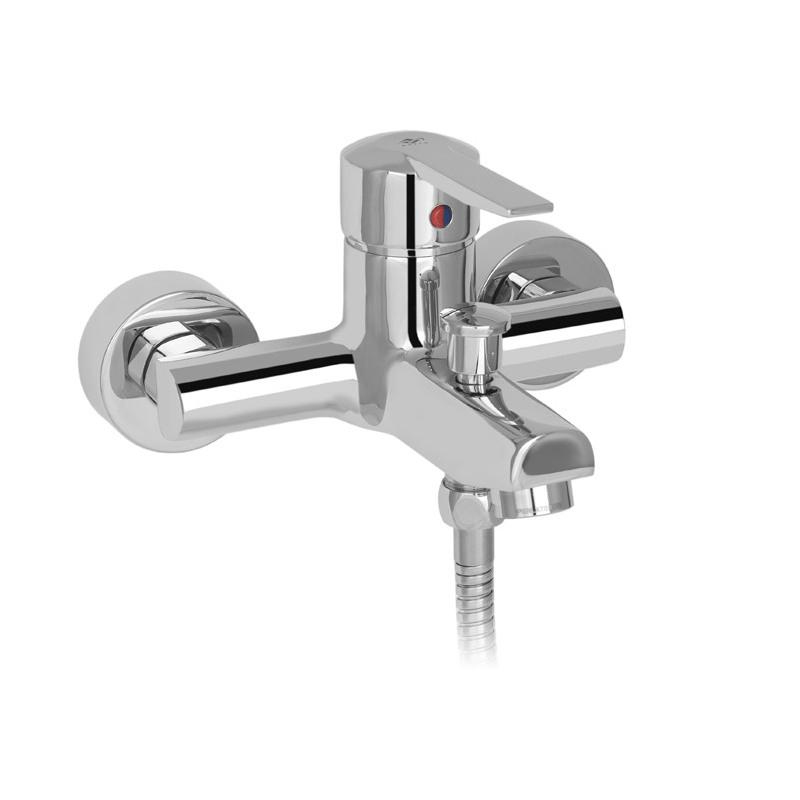 Смеситель Mofem Mode 151-0046-10/25 для ванны смеситель для ванны mofem rumba с душевой лейкой и шлангом 151 0038 10