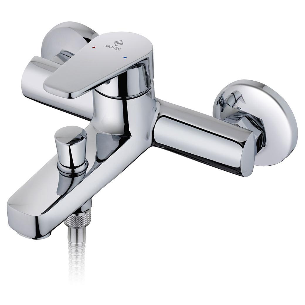 Смеситель Mofem Zenit 151-1901-00 для ванны смеситель для ванны mofem rumba с душевой лейкой и шлангом 151 0038 10