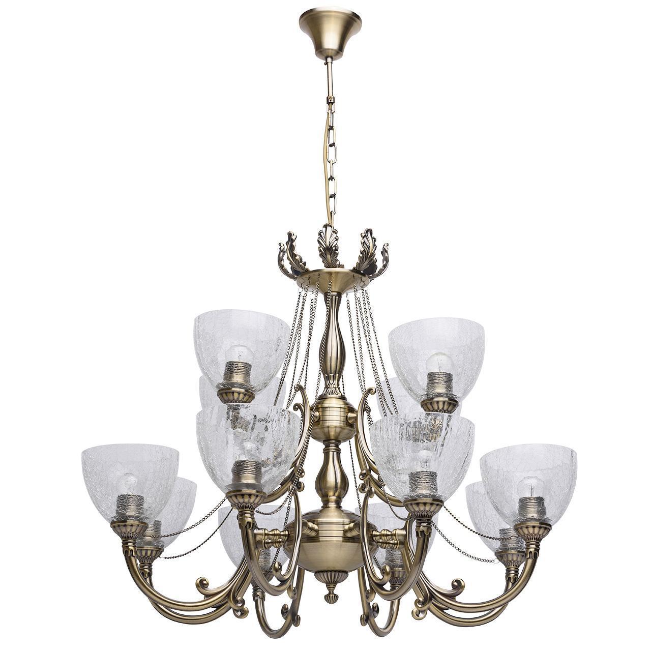 Подвесная люстра MW-Light Аманда 481011712 потолочная люстра mw light аманда 6 481011805