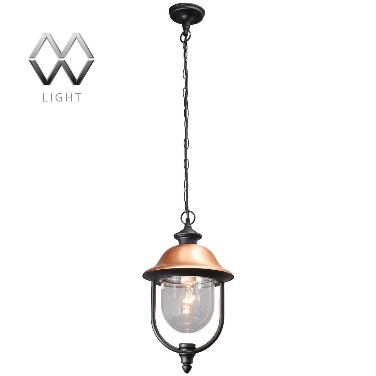 Уличный подвесной светильник MW-Light Дубай 805010401 светильник на штанге mw light дубай 805020101