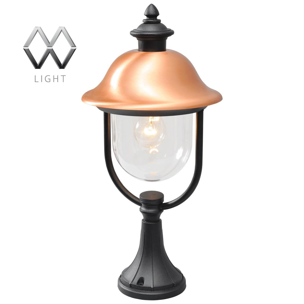 Уличный светильник MW-Light Дубай 805040301 светильник на штанге mw light дубай 805020101