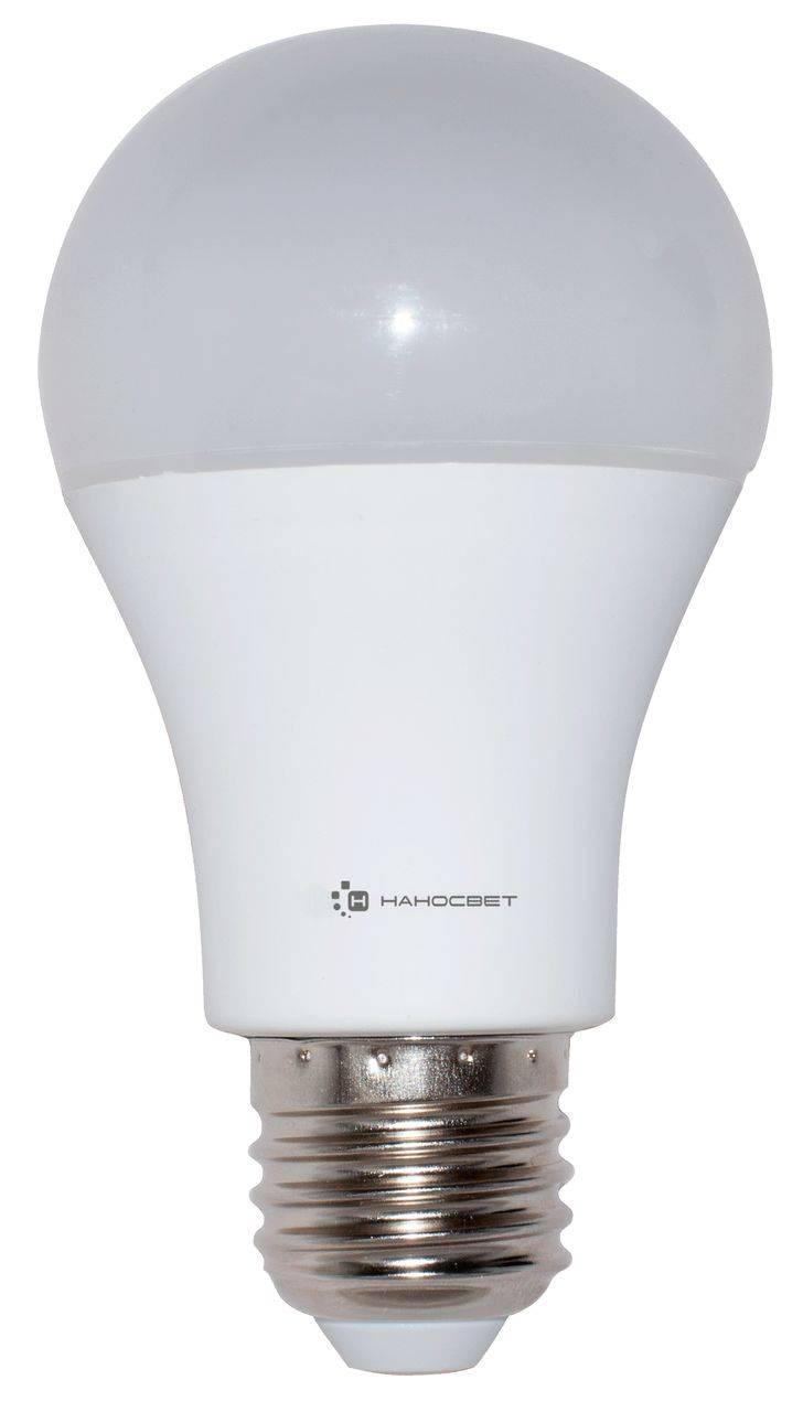Лампа светодиодная E27 15W 2700K матовая LC-GLS-15/E27/827 L196 lightstar лампа люминесцентная lightstar спираль матовая e27 15w 2700k 927452