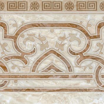 Гермес Плитка напольная декор 12-01-15-151 30х30 (ИБК) этюд плитка напольная коричневый 12 01 15 562 30х30