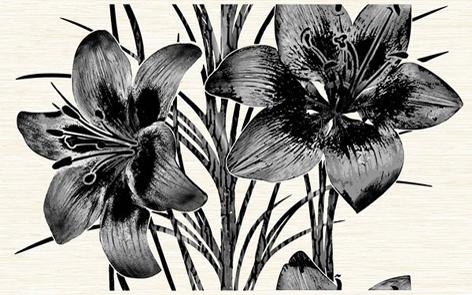 Piano черн. /09-03-04-081-2/ /96-46-04-8102/ Декор 40х25 декор нефрит риф бретань 3 60x20