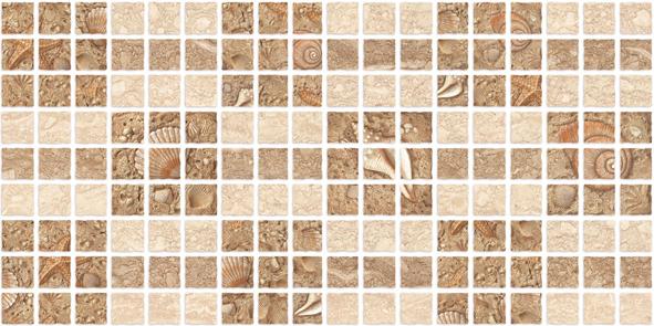 Аликанте Декор (10-31-11-119) 10-11-11-127 25х50 (Мозаика) 10 шт 303dh
