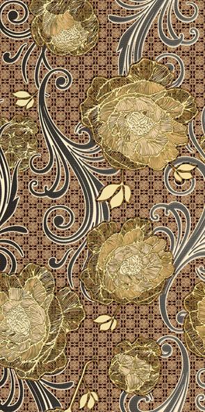 Мирабель Декор 10-03-11-126 25х50 декор нефрит риф бретань 3 60x20