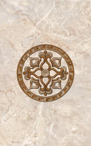 Гермес Декор 09-03-15-125-0 40х25 (вставка декорат.) декор нефрит риф бретань 3 60x20