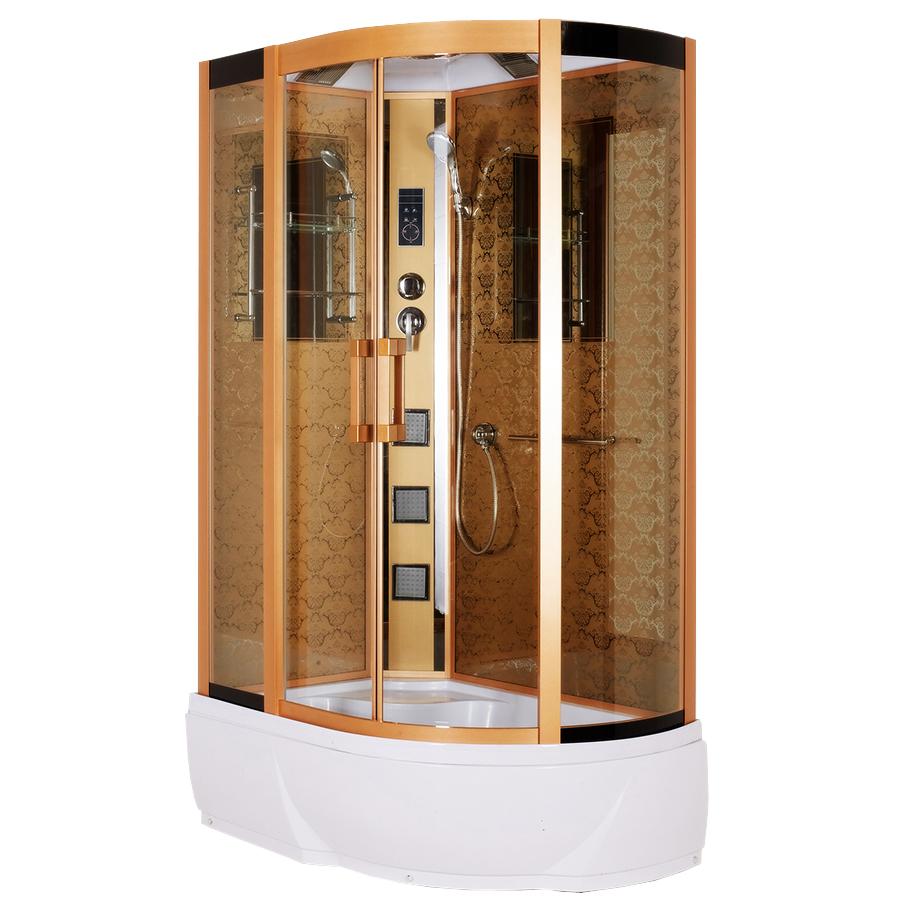 Душевая кабина Niagara Lux 7712G L/R золото душевая стойка lux railkit цвет хром высота 75 см