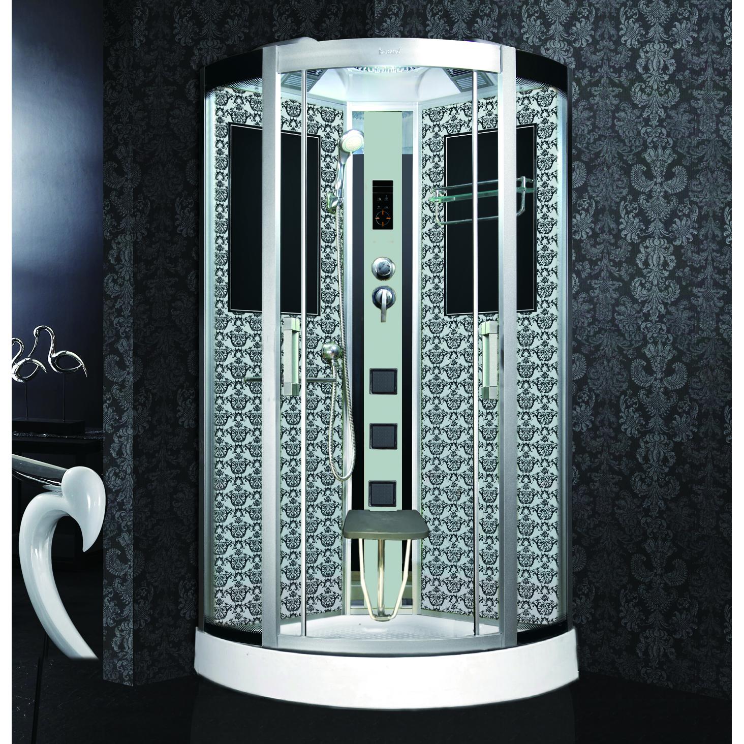 Душевая кабина Niagara Lux 7715W белый душевая кабина mirwell 120x80x215 см mr4512tpl c1